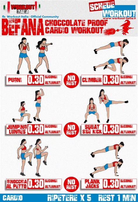 workout in casa scheda workout befana fitness