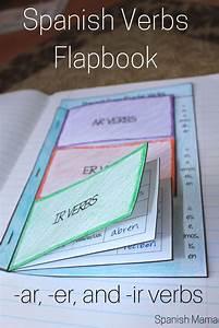 Spanish Interactive Notebook Verbs Flapbook  Regular