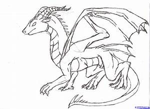 How To Draw A Dragon, Step by Step, Dragons, Draw a Dragon ...