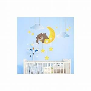 stickers nounours pour chambre bebe nouveaux modeles de With déco chambre bébé pas cher avec fleurs par internet pas cher