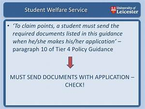 tier 4 student visa With tier 4 documents