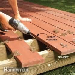 backyard decks build an island deck the family handyman