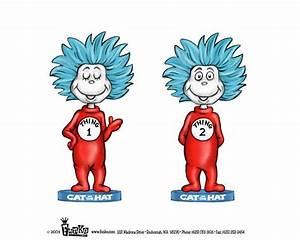 Thing 1 and thing 2 cat in the hat clipart - BBCpersian7 ...