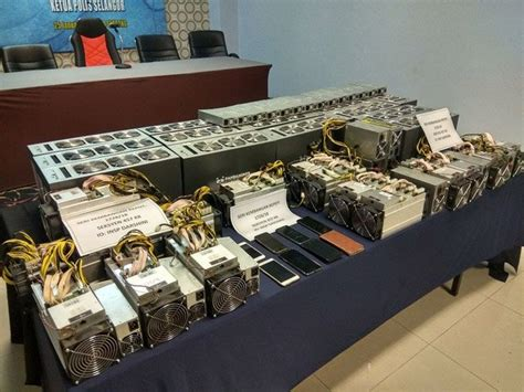 Bitcoin Equipment by Malaysian Arrest Of Bitcoin Mining Equipment