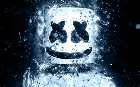 4k Resolution Neon Marshmello Wallpaper 3d by Wallpapers 4k Marshmello Abstract Dj