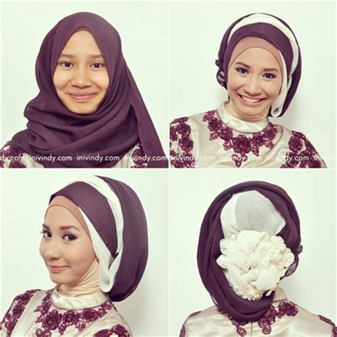 gambar model jilbab wisudah hijab kebaya modern