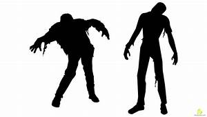 walking zombie clipart - Clipground