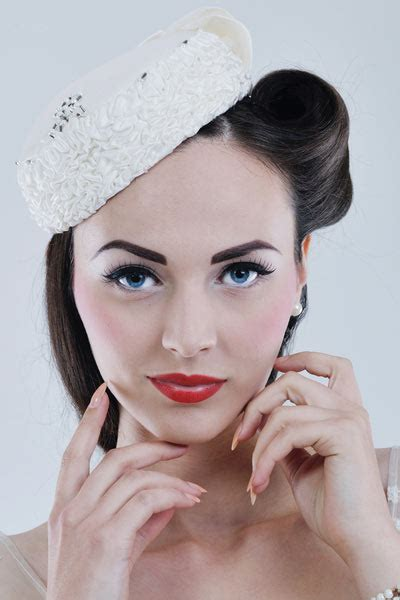 hollywood glamour vintage wedding hairstyles