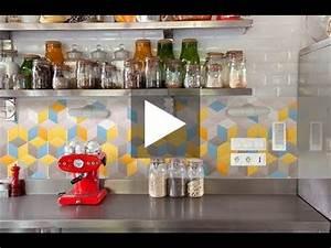 Poser Une Credence : comment poser une cr dence cuisine d co k in youtube ~ Melissatoandfro.com Idées de Décoration