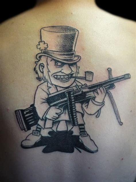 ultra modern gun tattoos