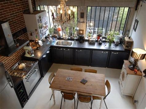 zoevox design kitchen le style industriel y est affirm 233