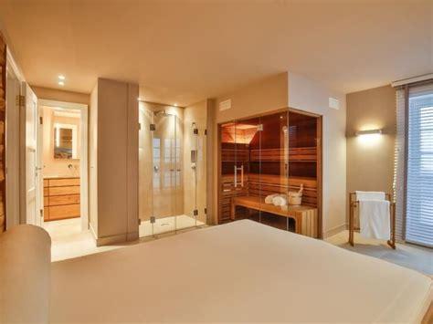 Sauna Im Schlafzimmer by Wellnessbereich Badezimmer Sauna