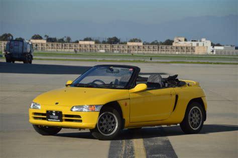 1991 honda beat kei car mid engine rear wheel 656 cc