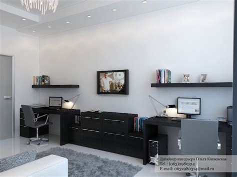 black home office desk a cluster of creative home design