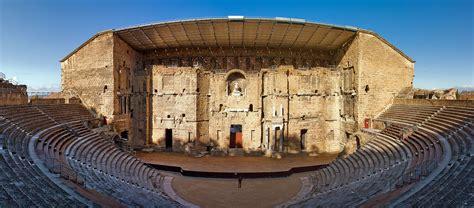 cuisine rome antique theatre antique d 39 orange southern greece