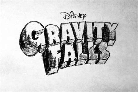 gravity falls drawing logo gif  zhoolego  deviantart