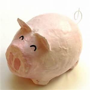 Sparschwein Aus Pappmache : sparschweinchen aus pappmach basteln ~ Orissabook.com Haus und Dekorationen