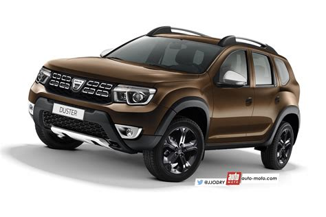 Next-gen Dacia Duster (renault Duster) Rendered With New Info