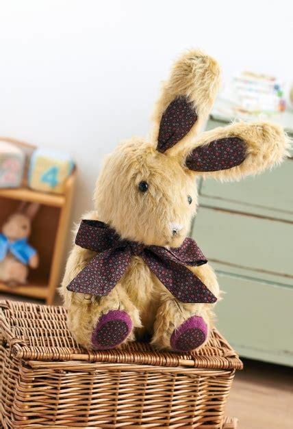 plush bunny rabbit toy  sewing patterns sew magazine