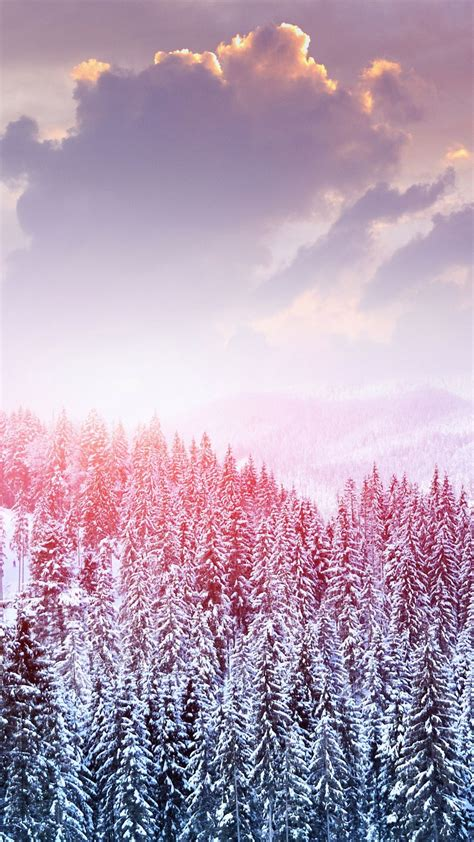 Gold Winter Wallpaper Iphone by Winter Iphone Wallpaper Wallpapers In 2019 Winter