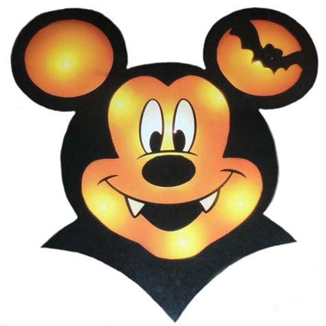 disney halloween decoration mickey mouse vampire window decor