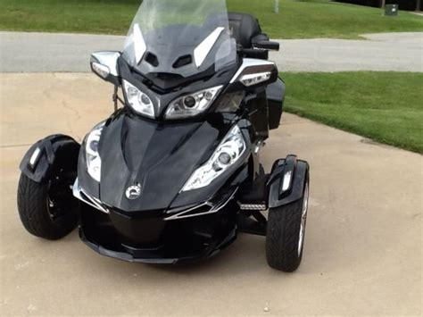 can am trike 2015 can am spyder rt limited trike with can am freedom trailer