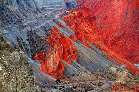 Meiziwan, hanggai town, anji county 313300 china. Fascinating scenery of Hongshan Grand Canyon(1/9 ...