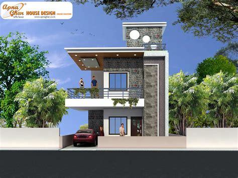 Duplex House Front Elevation Designs Also Best Ideas About