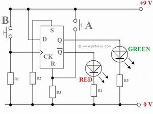 D Type Flip Flop Circuit Diagram