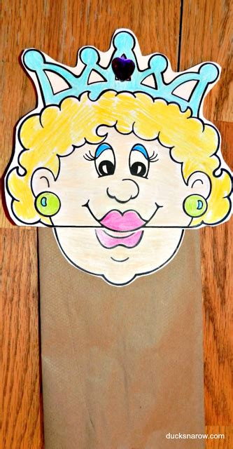 letter q is for paper bag puppet craft for preschool 280 | 75677ead63f470cb3dc002c06f30c95e