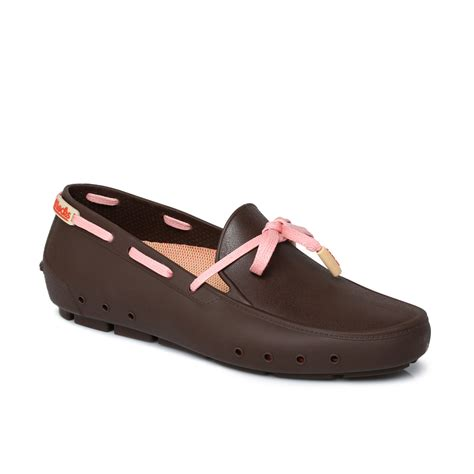 Boat Shoes With Socks by Mocks Mocklite Driver Bilbao Brown Womens Flats Boat Shoes