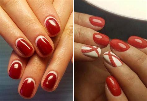 Красный дизайн ногтей модные тенденции фото 20202021