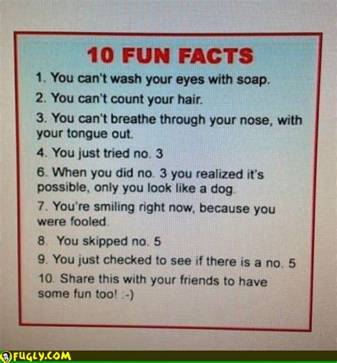 Facts That Will Make You Smile