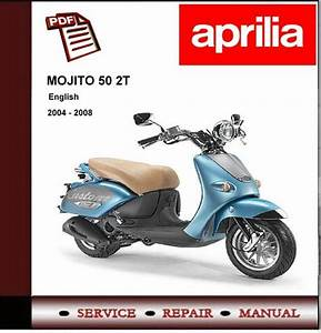 Aprilia Mojito 50 2t Custom Workshop Repair Service Manual