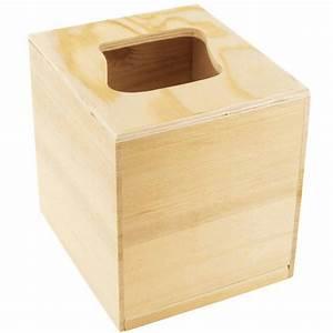Boite Mouchoir Bois : support bois d corer boite mouchoirs bois carr ouverture vague ctop ~ Teatrodelosmanantiales.com Idées de Décoration