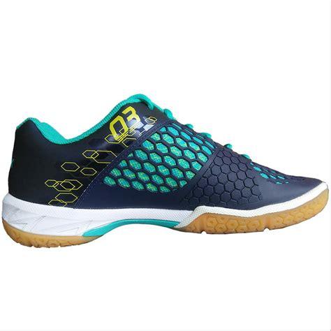yonex power cushion shbex badminton shoes navy blue