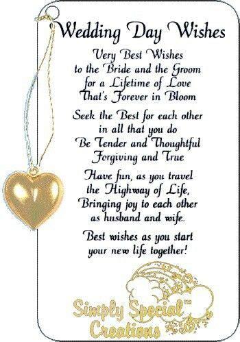 wedding day wishes sayingspoemsetc pinterest