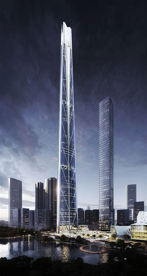 Chicago Based Architects Behind New Chinese Megatall