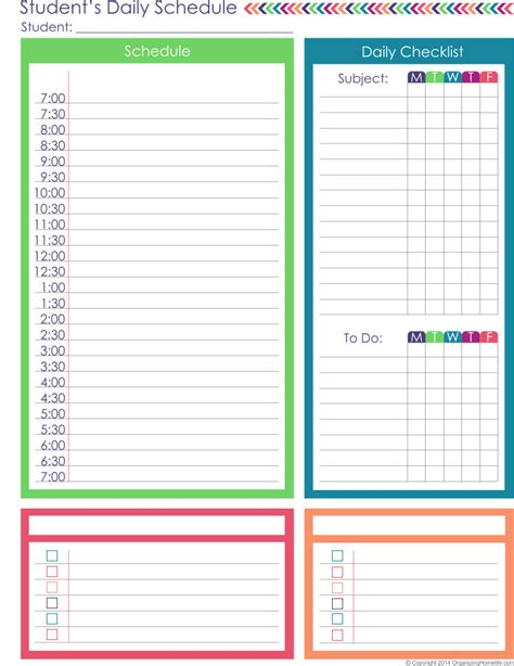 plan daily schedule homeschool planner expansion pack organizing homelife