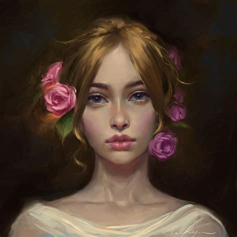 Portrait By Selenada On Deviantart