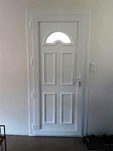 Moustiquaire Porte D Entrée : porte d 39 entree en pvc energie fenetre ~ Melissatoandfro.com Idées de Décoration