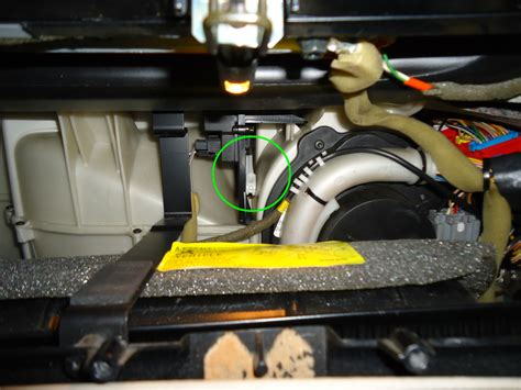 volvo recirculation vent motor mvs