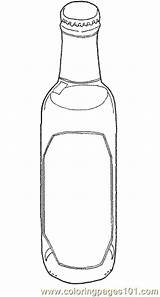 Coloring Pages Bottle Drink Water Printable Bottles Drinks Nature Sheets Coloringpages101 Templates Sheet sketch template