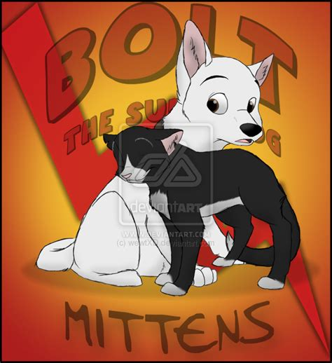 anime bold bolt n mittens by wewtxd by boltfc on deviantart