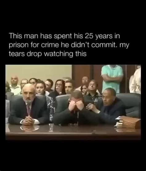 This man has spent his 25 years in prison for crime he ...