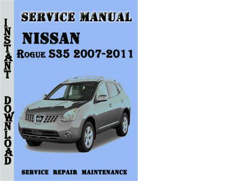 how to download repair manuals 2011 nissan rogue regenerative braking pay for nissan rogue s35 2007 2011 service repair manual pdf
