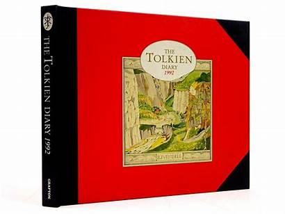 Tolkien Diary 1992 Books Desk