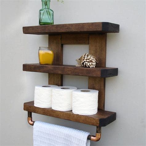 Small Wall Shelves Bathroom by Best 25 Bathroom Shelves Ideas On Half