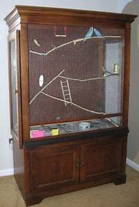 How to make a homemade indoor bird aviary or flight cage ...