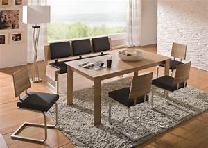 Tischgruppe Mit Bank Und Stühlen : tischgruppe stone mit bank freischwinger wildeiche m bel kurz ~ Bigdaddyawards.com Haus und Dekorationen